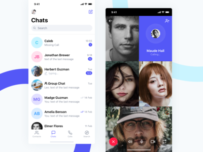 SN Kit. Chat & Video Call