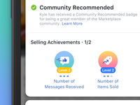 Facebook Community Commerce Badges