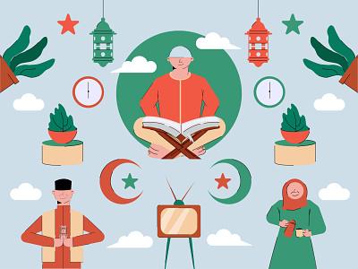 Ramadhan Kareem vector ramadhan vector illustrator illustration