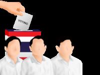 Thailand Voting Illustration