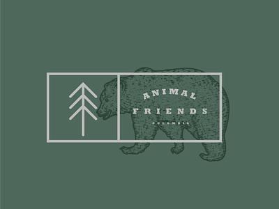Emblem colombia plants illustration design engraving classic branding logo adventure nature bear logo emblem animals tree bear mountain