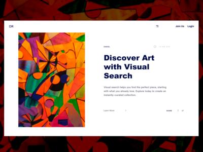 Artists Website Design
