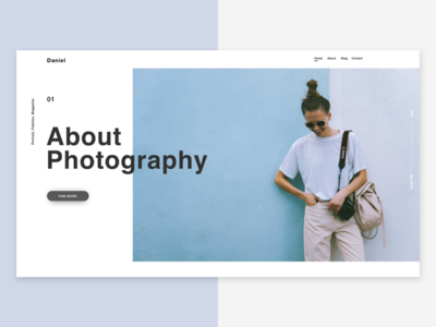 Web ui-about photography