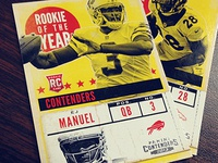 Rookie of the Year Contenders