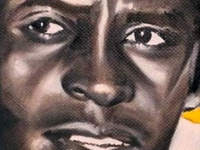 Roberto Clemente - Oils on Canvas