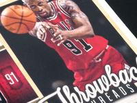 2012-13 Elite Basketball - Throwback Threads Insert