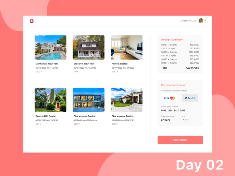 Daily UI - 02 Checkout