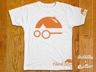 Nerd'o nerd studio logo mark