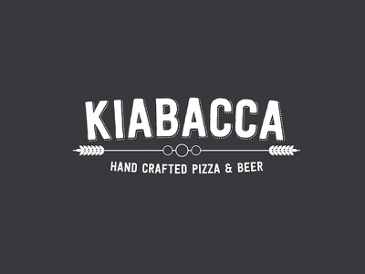 Kiabacca crafted pizza beer hipster
