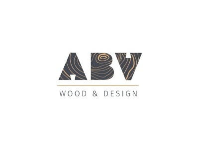 ABV Wood & Design logo furniture logo