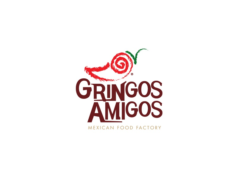 Gringos Amigos letter g smile red pepper chilli mexican restaurant