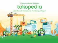 Tokopedia 2019 Calender