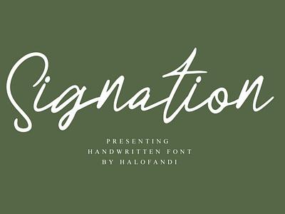 Signation Signature Font letter calligraphic signature calligraphy typography handwritten script lettering alphabet font