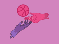 Dribbble Ball