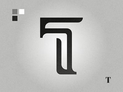T affinity designer black and white graphic design logo design logo lettermark letter t t letter t logo t