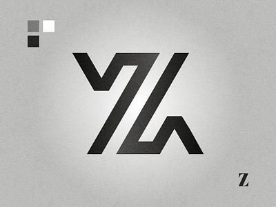 Z affinity designer graphic design black and white lettermark logo design logo letter z z logo z