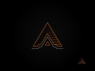 Neon Tech: Orange