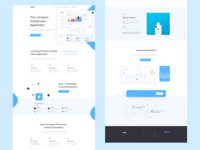 Product Activity Web App Landing Page