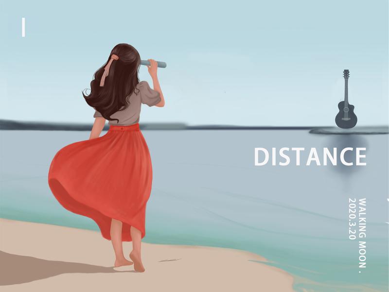 distance 插画练习