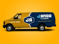 J Ando Plumbing Truck and Van Wrap