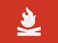 Krolicks flame log dribbble