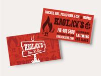 Krolick's Bar-B-Que Brand Identity Assets