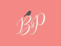 Bushel and a Peck Monogram