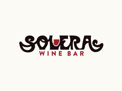 Solera Wine Bar Brand Identity
