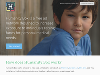 Humanity Box website