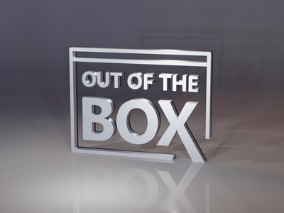 Day 1/30 - OUT OF THE BOX blender 3d art icon brand branding logo graphic design design illustration