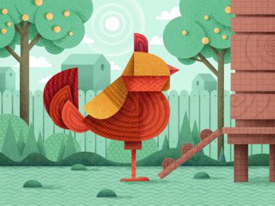 Geometric Bird 1