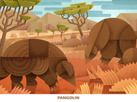 Endangered Pangolin