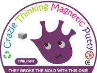putty magnetic sticker