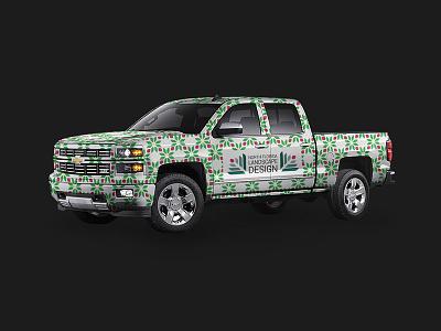 North Florida Landscape Design truck wrap vehicle car wrap truck
