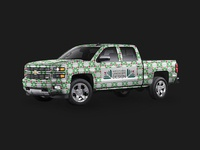 North Florida Landscape Design truck wrap
