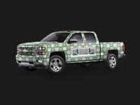North Florida Landscape Design truck wrap