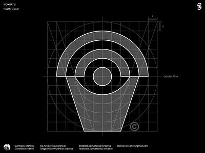 Ipokratis Grid System logo design logotype logo grids grid design grid logo grid brand design branding