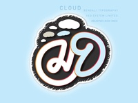 Cloud Typography Bengali