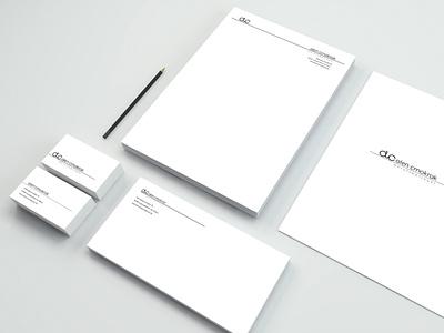 Alen Crnokrak Berufsbetreuer graphic graphicdesign stationery logodesign logo branding branding design