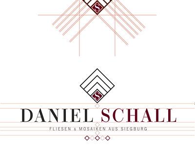 Logo Konstruktion Daniel Schall logo logo design designer branding brand design logodesign