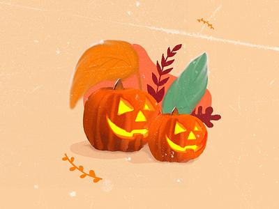 halloween halloween halloween fall autumn halloween visual art photoshop illustration art home digitalart behance graphicdesign artwork illustration dribbble