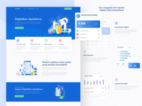 Pharmacy POS App Landing Page