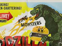 Halifax Godzilla Eats Tokyo Poster