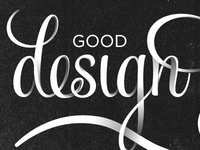 Good Design Matters type
