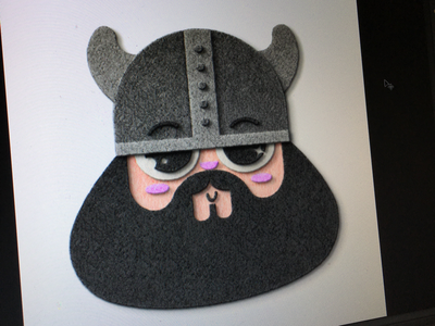 Fun with felt felt aalborg viking character design