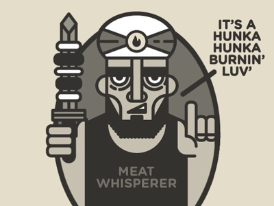The Meat Whisperer meat kebabistan character design kebab