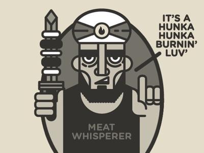 The Meat Whisperer meat kebabistan character design kebab