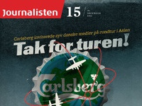 Journalisten cover carlsberg