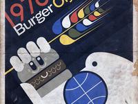 Halifax Burger Olympics Poster
