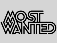 MOST WANTED TYPOGRAPHY